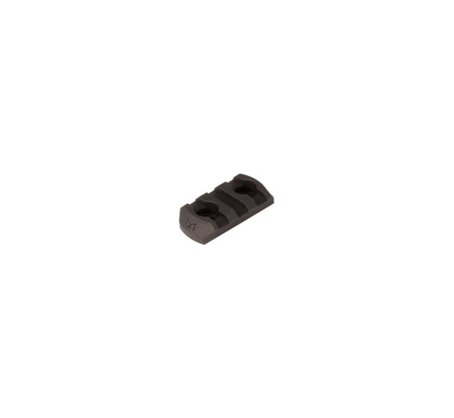 M-LOK Polymer Rail Section 3 Slots (Black)