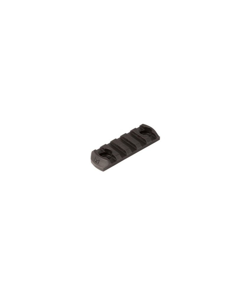 Magpul M-LOK Polymer Rail Section 5 Slots (Black)
