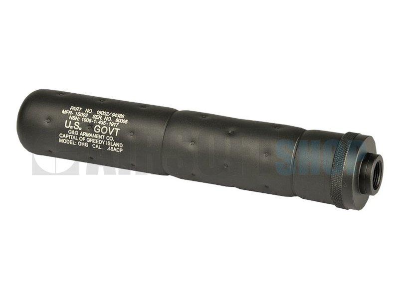 G&G SOCOM Silencer Large CCW (Black)