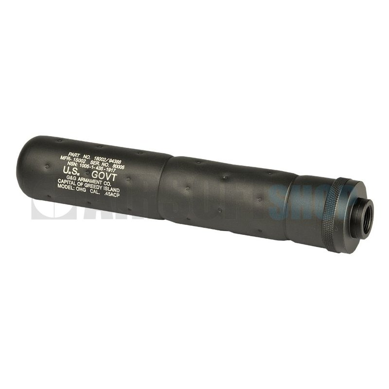 G&G SOCOM Silencer Large CCW (Black)
