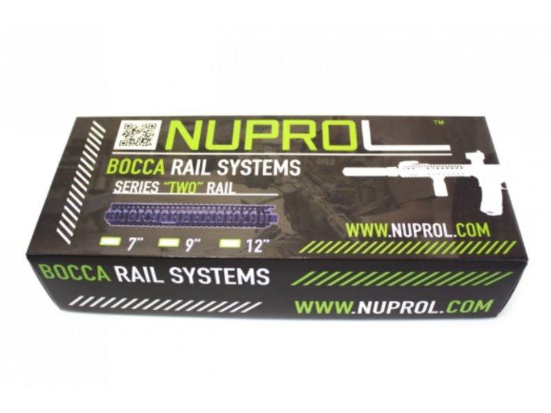 "NUPROL BOCCA Series Two Rail 7"" (Black)"