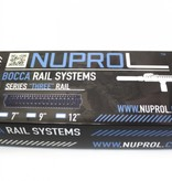 "NUPROL BOCCA Series Three Rail 7"" (Black)"