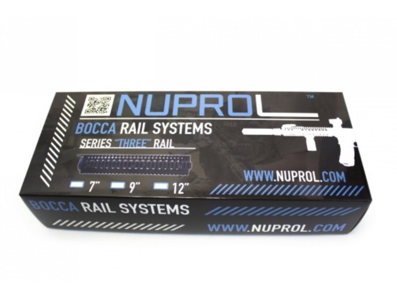 "NUPROL BOCCA Series Three Rail 9"" (Black)"