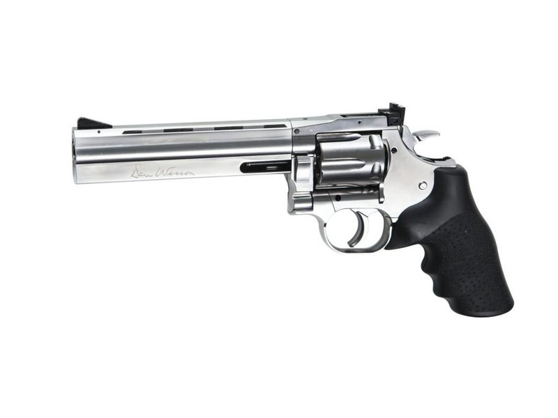 "ASG Dan Wesson 715 - 6"" Silver (Low Power)"