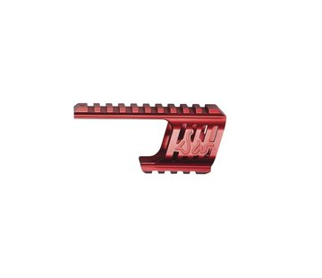 ASG Dan Wesson DW 715 CNC Mount (Red)