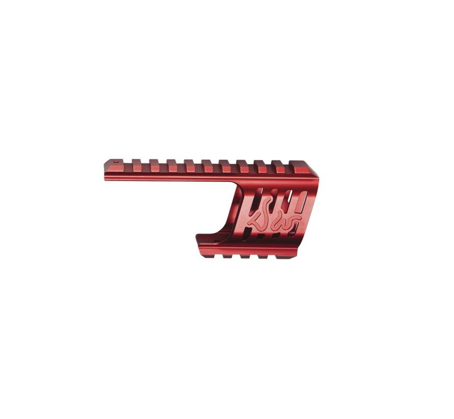 Dan Wesson DW 715 CNC Mount (Red)