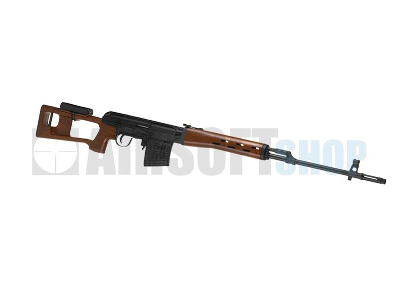 King Arms SVD Dragunov Wood Pattern Rifle (AEG)