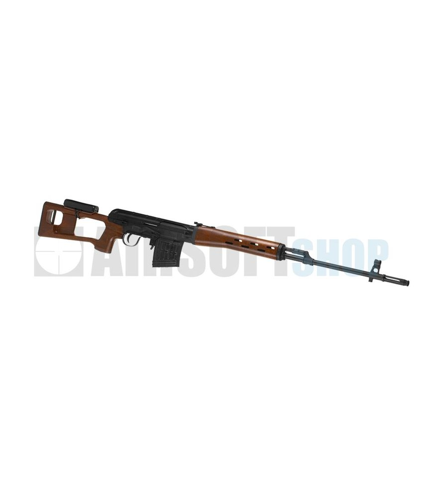 King Arms SVD Dragunov Wood Pattern Rifle (AEG)