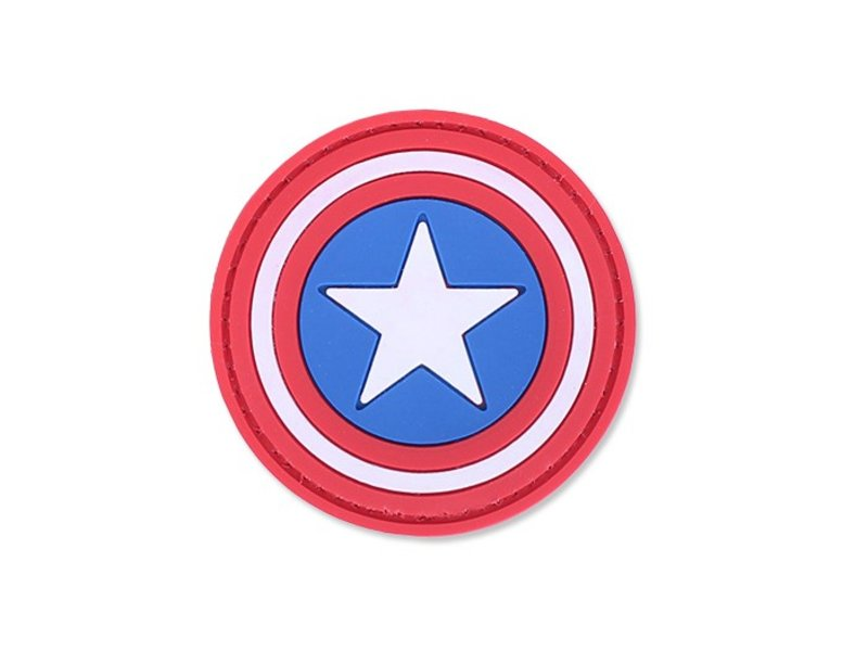 4TAC Captain America PVC Patch