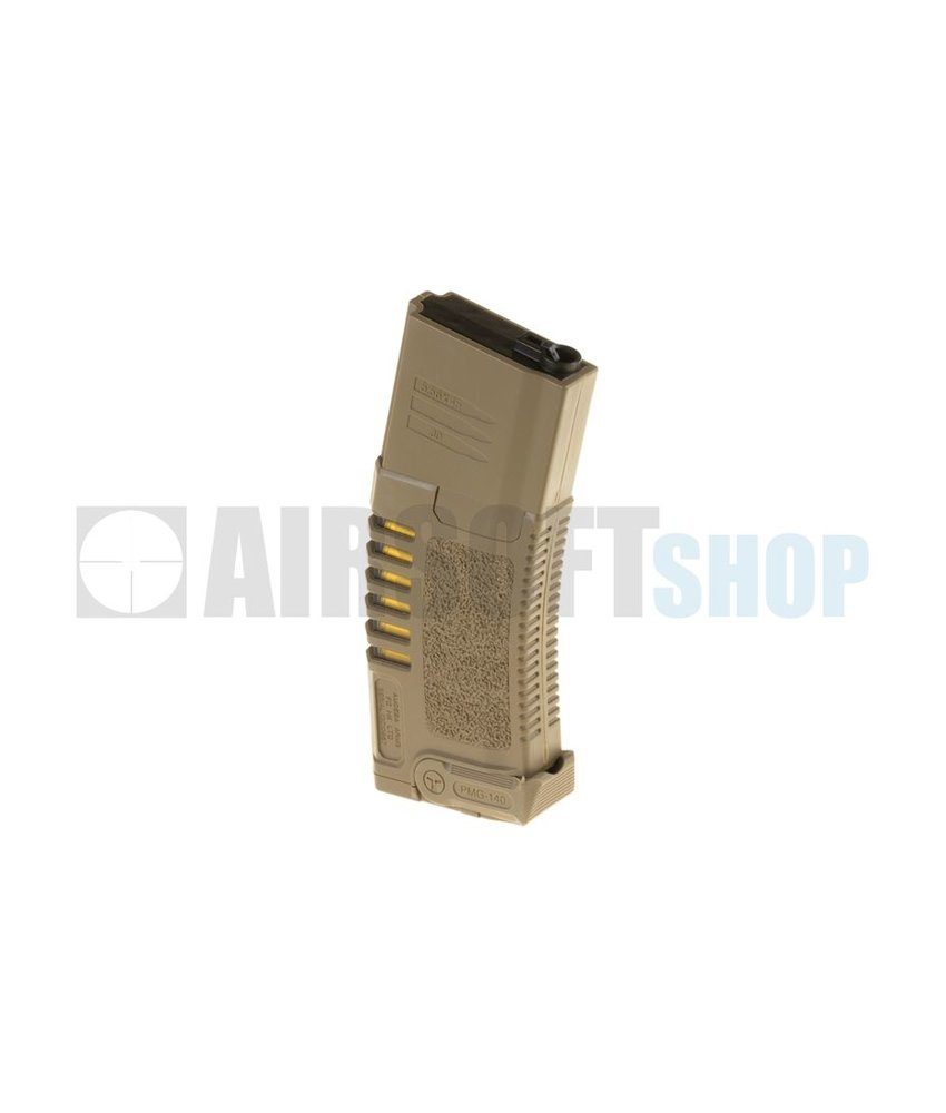 Ares Amoeba M4 Midcap Mag 140rds (Tan)
