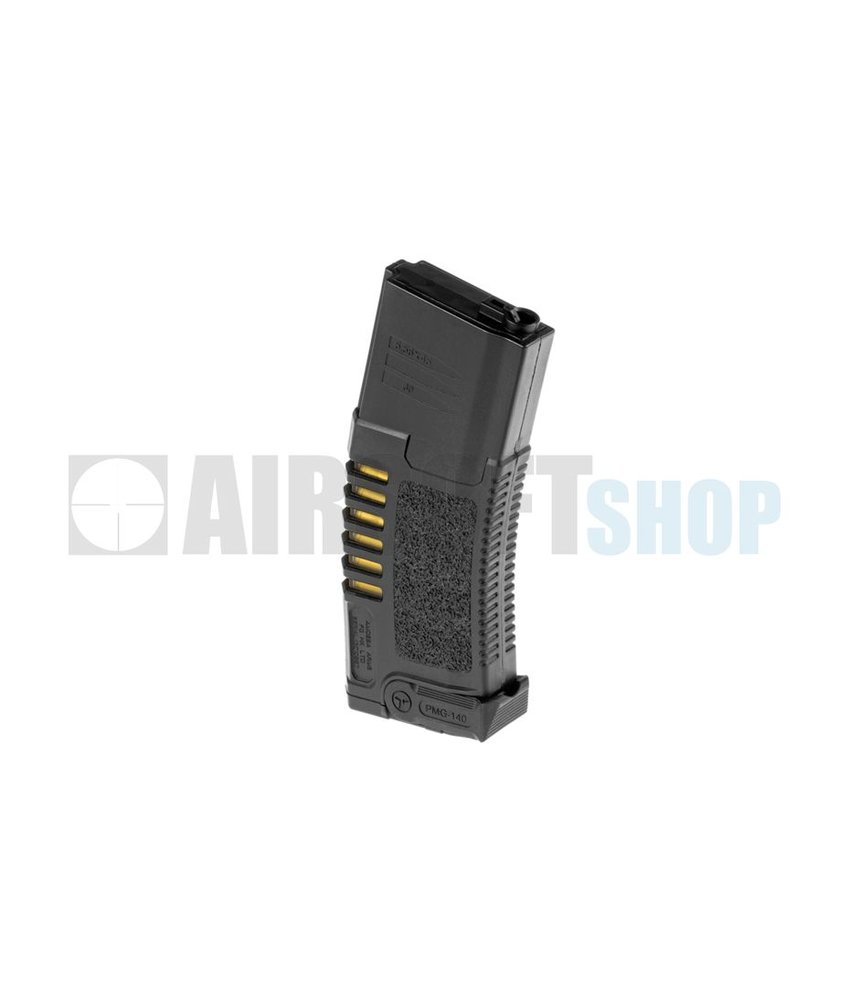 Ares Amoeba M4 Midcap Mag 140rds (Black)