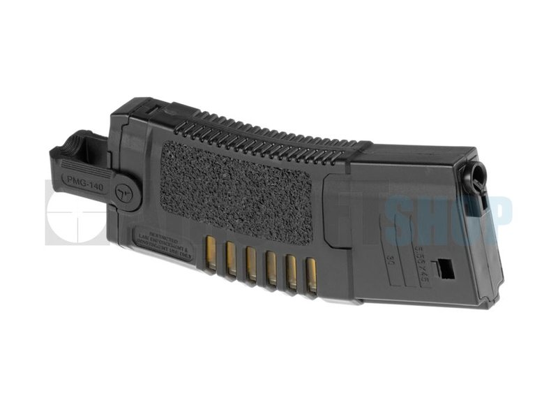 Ares Amoeba M4 Midcap Mag 140rds (Black)