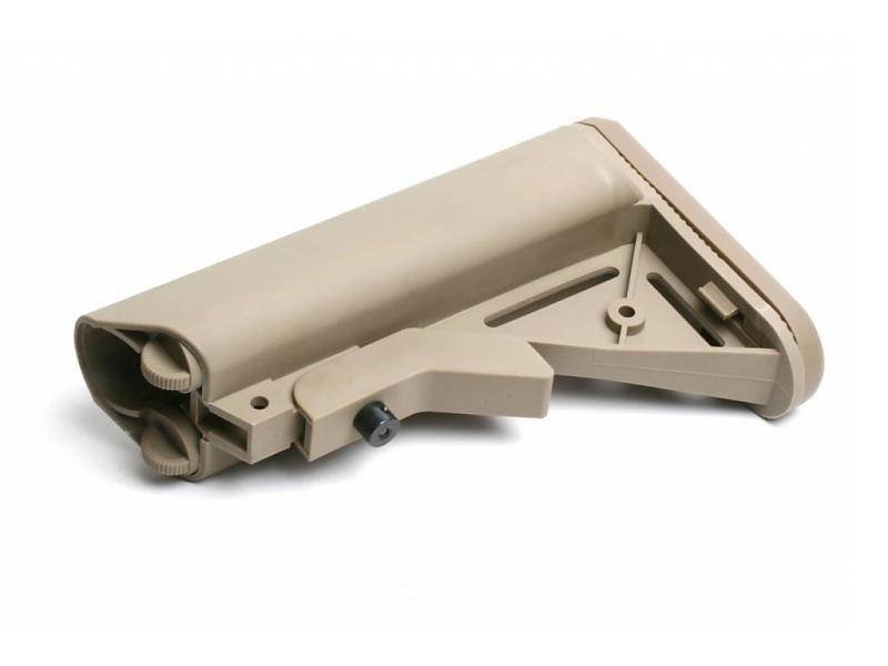 G&G GR16 Crane Stock QD Battery Type (Tan)