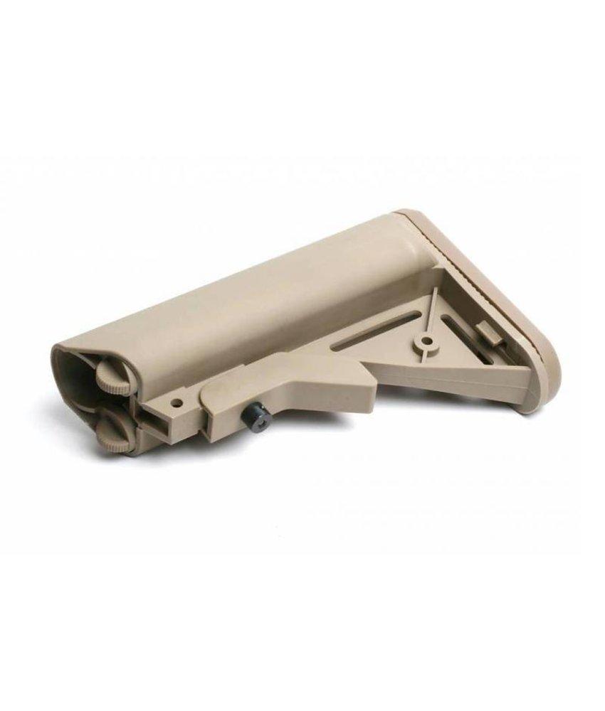G&G GR16 Crane Stock QD Battery Type (Tan)