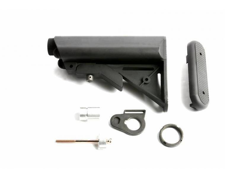 G&G GR16 Crane Stock QD Battery Type (Black)