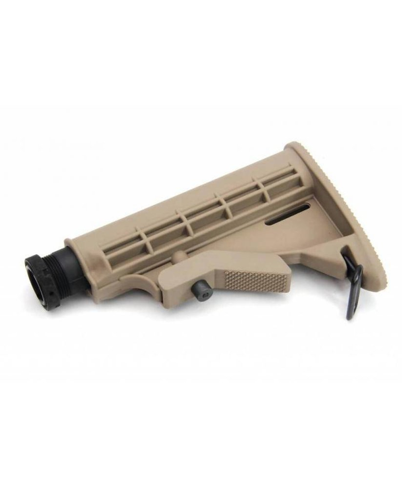 G&G M4 Retractable Stock (6 Positions) (Tan)