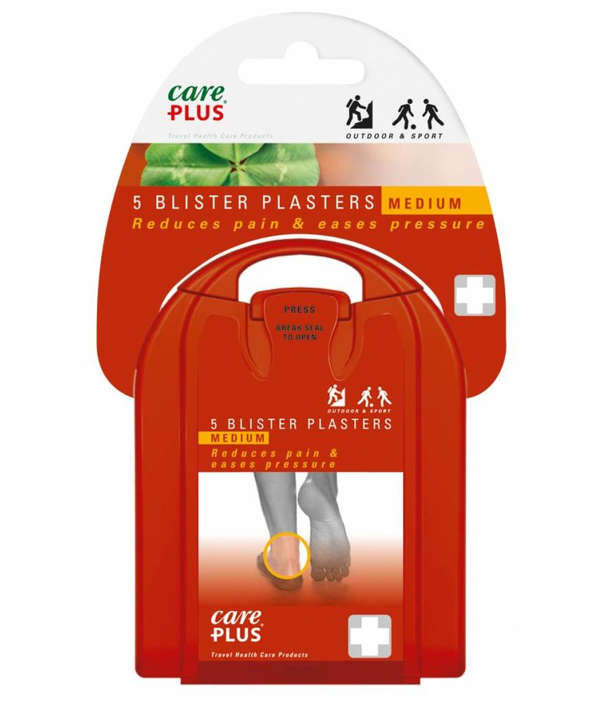 Care Plus Medium Blister Plasters