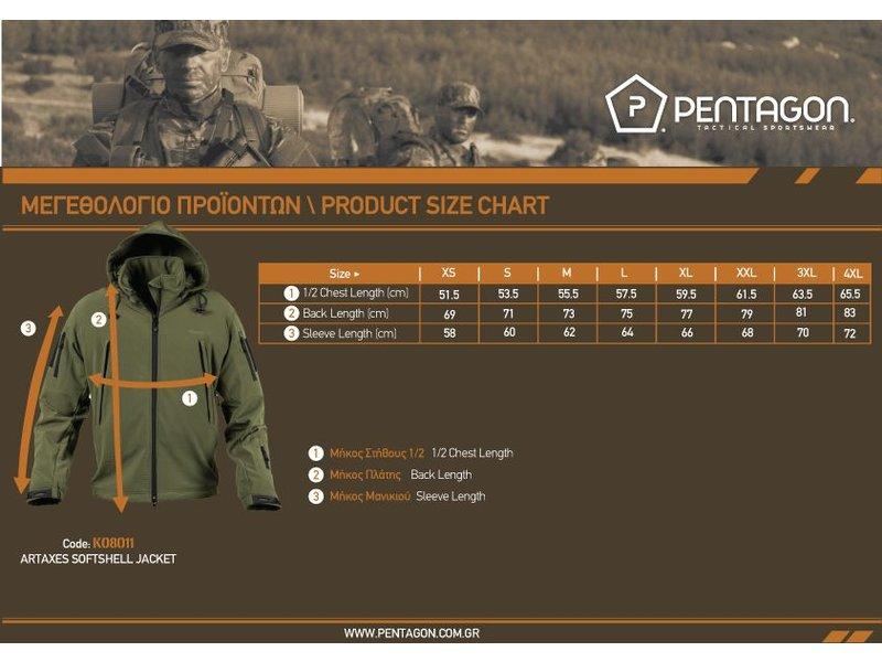 Pentagon Artaxes Softshell Jacket (Navy Blue)