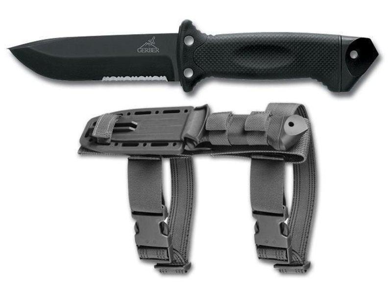 Gerber LMF II Infantry Knife (Black)