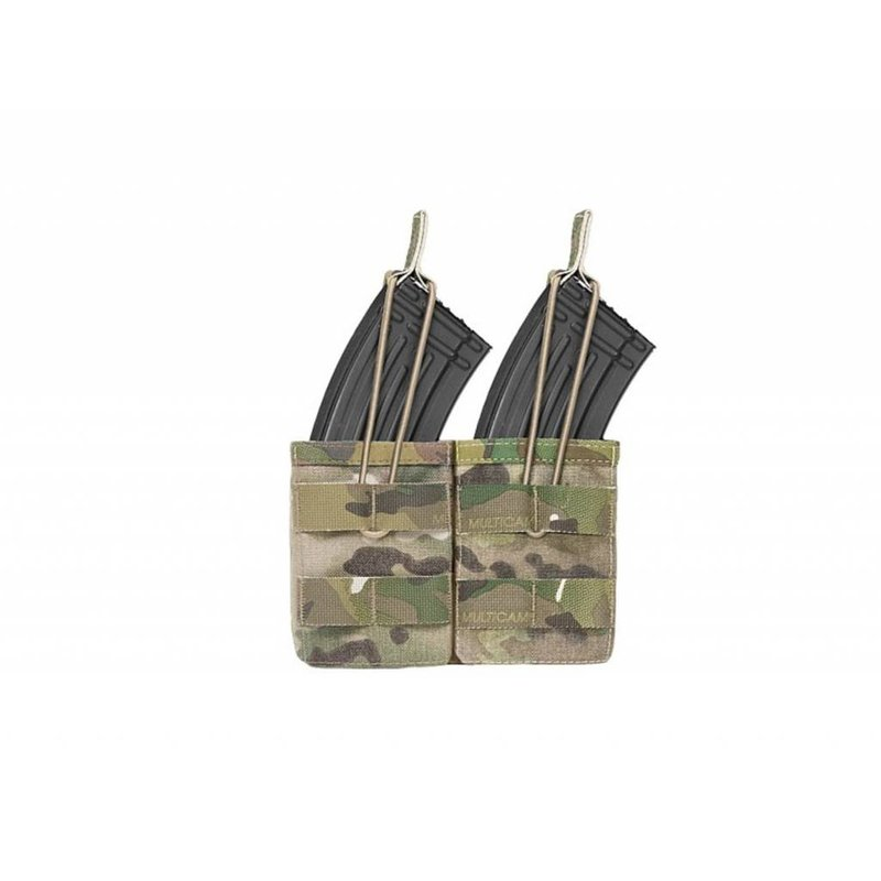 Warrior Double Open Pouch AK (Multicam)