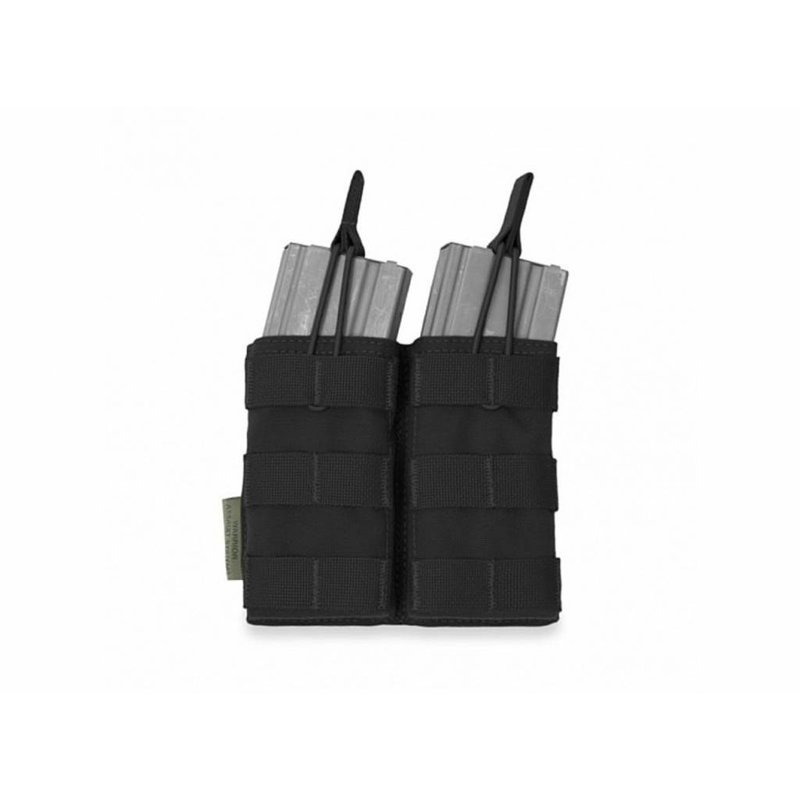 Warrior Double Open Pouch M4 (Black)