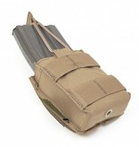 Warrior Single Snap Mag Pouch M4 5.56 (Coyote Tan)
