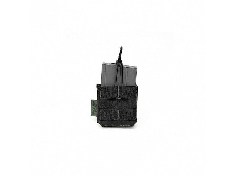 Warrior Single Open Pouch 7.62 x 51mm Short (Black)