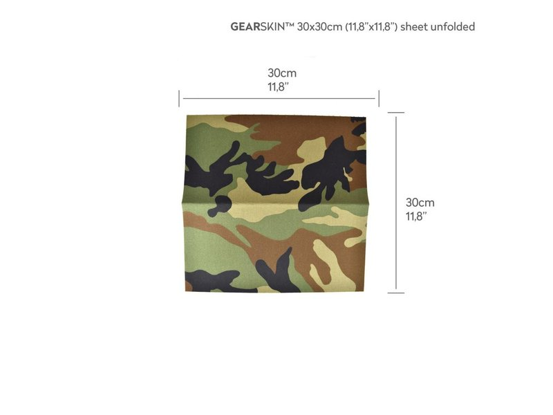 GEARSKIN Compact (Woodland)