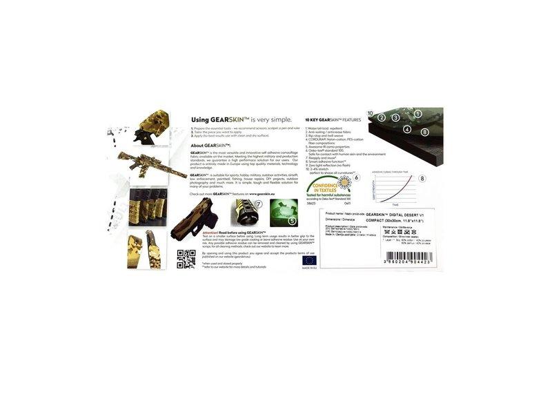 GEARSKIN Compact (Digital Desert V1)