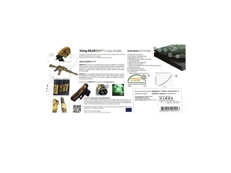 GEARSKIN Compact (Digital Woodland V2)