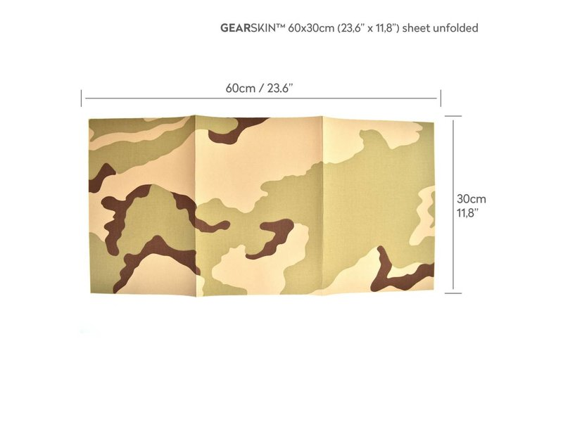 GEARSKIN Regular (Desert 3 Color)