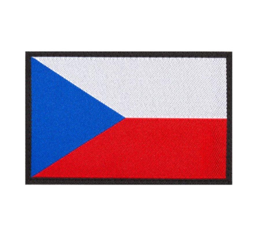 Czech Flag Patch