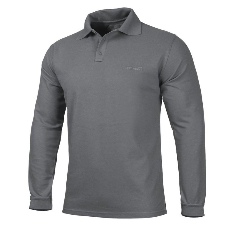 Pentagon Polo Shirt 2.0 Long Sleeve (Sage)