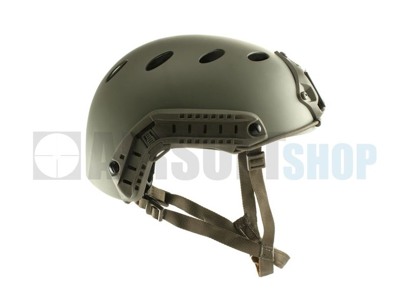 FMA Carbon Fiber FAST PJ Helmet (Foliage Green)