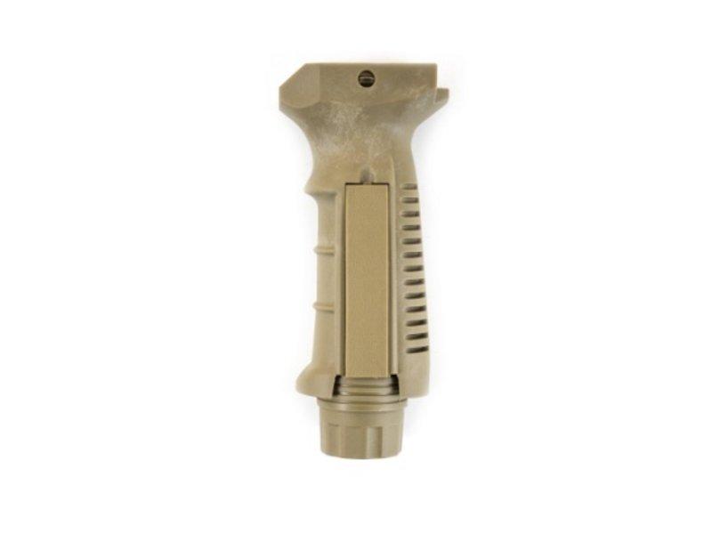 NUPROL Pressure Pad Vertical Grip (Tan)