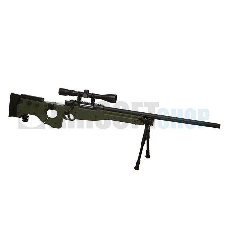 WELL AW .338 Sniper Rifle Set Upgraded (Olive Drab)