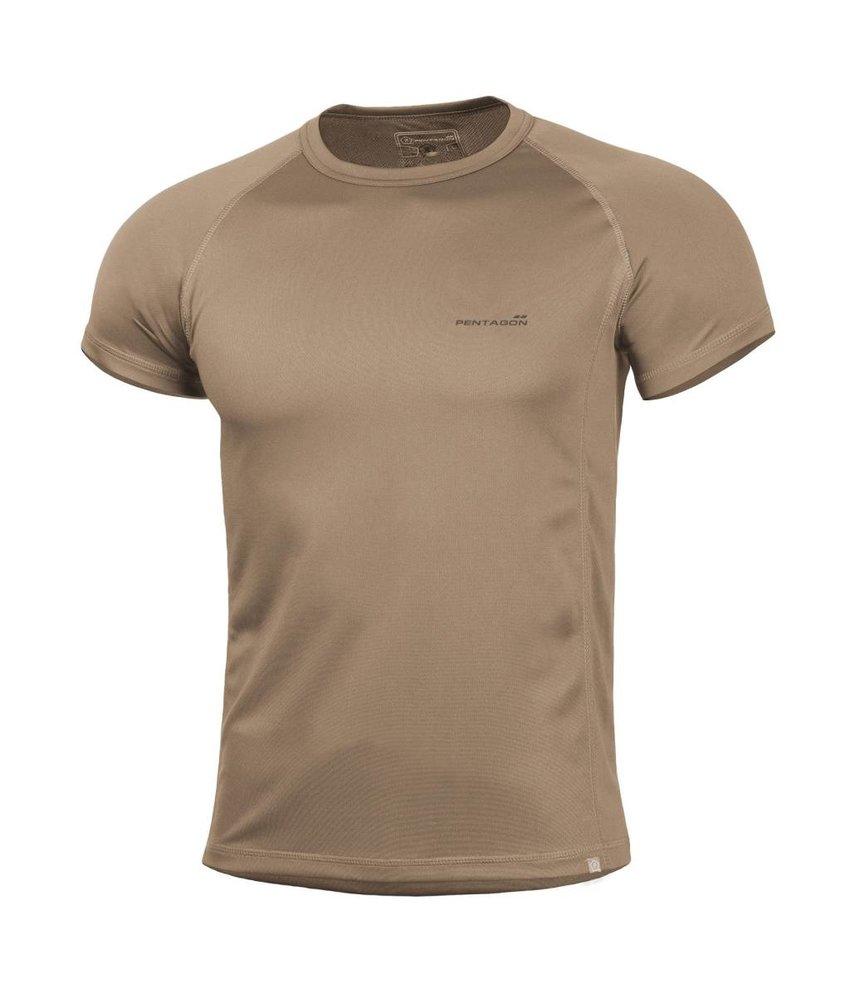 Pentagon Quick Dry Body Shock T-Shirt (Coyote)