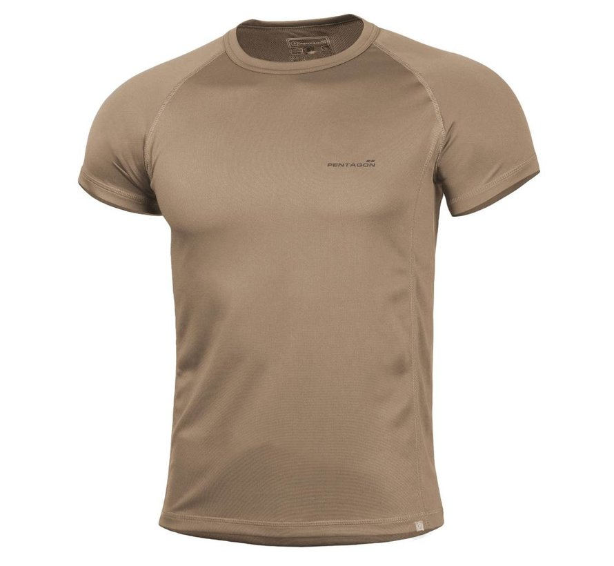 Quick Dry Body Shock T-Shirt (Coyote)
