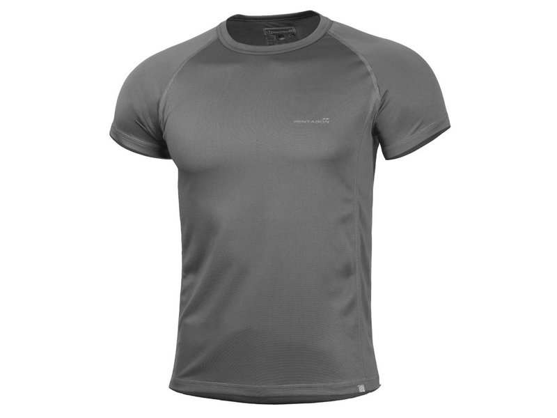 Pentagon Quick Dry Body Shock T-Shirt (Cinder Grey)