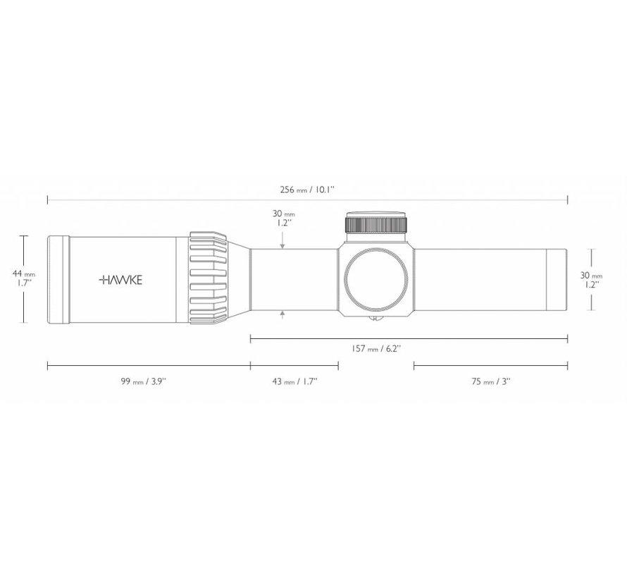 XB30 PRO 1-5x24 SR Scope