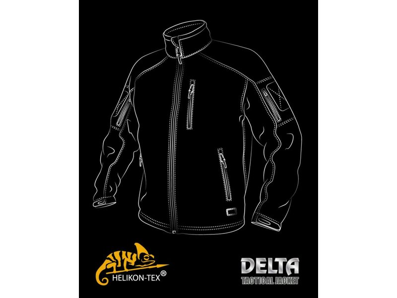 Helikon Delta Tactical Jacket (Foliage Green)