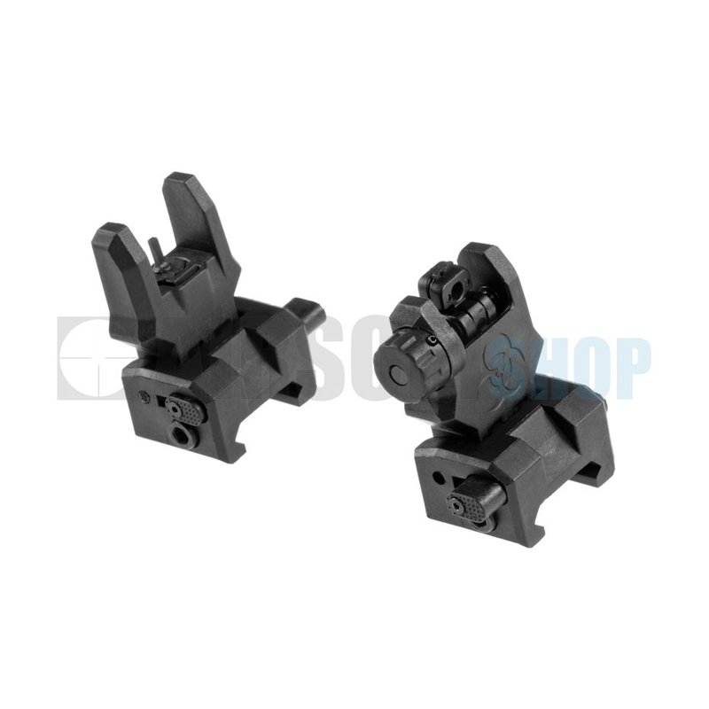 FMA Gen 3 Flip-Up Sights (Black)