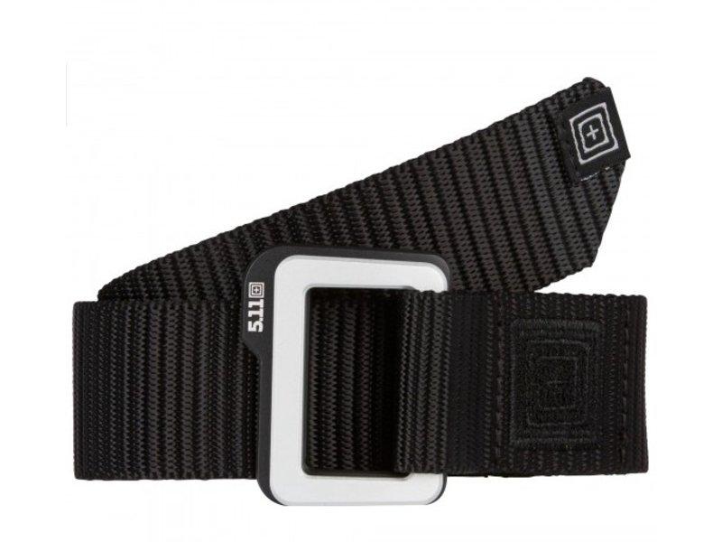 5.11 Tactical Traverse Double Buckle Belt (Black)