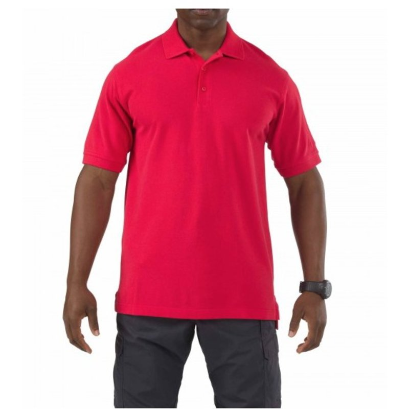 5.11 Tactical Professional Short Sleeve Polo (Range Red)