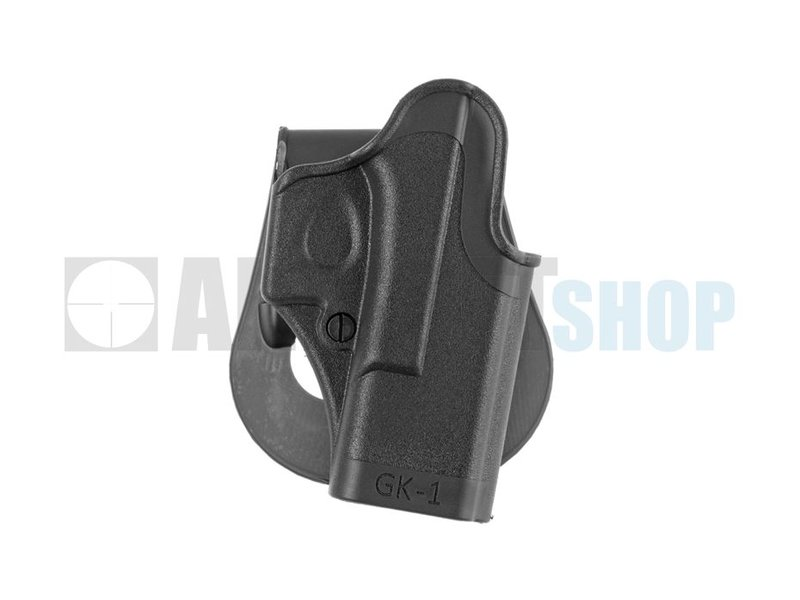 IMI Defense Glock 17 Paddle Holster (Black)