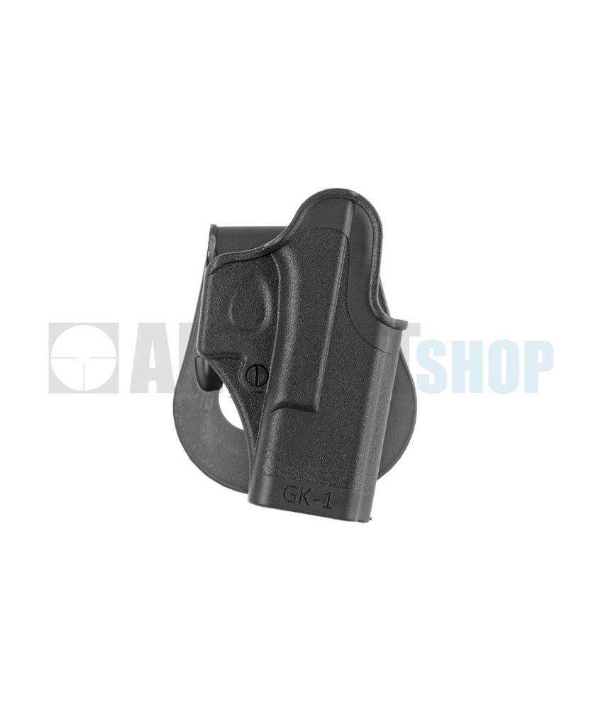 IMI Defense Glock 17 Paddle Holster (Black)