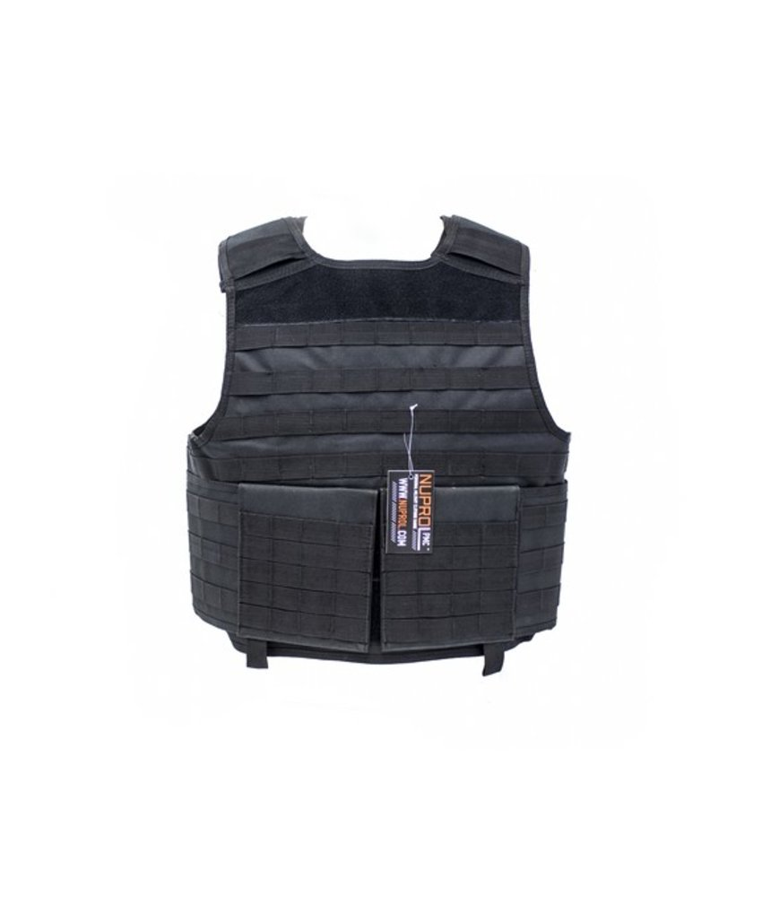 NUPROL PMC Plate Carrier (Black)