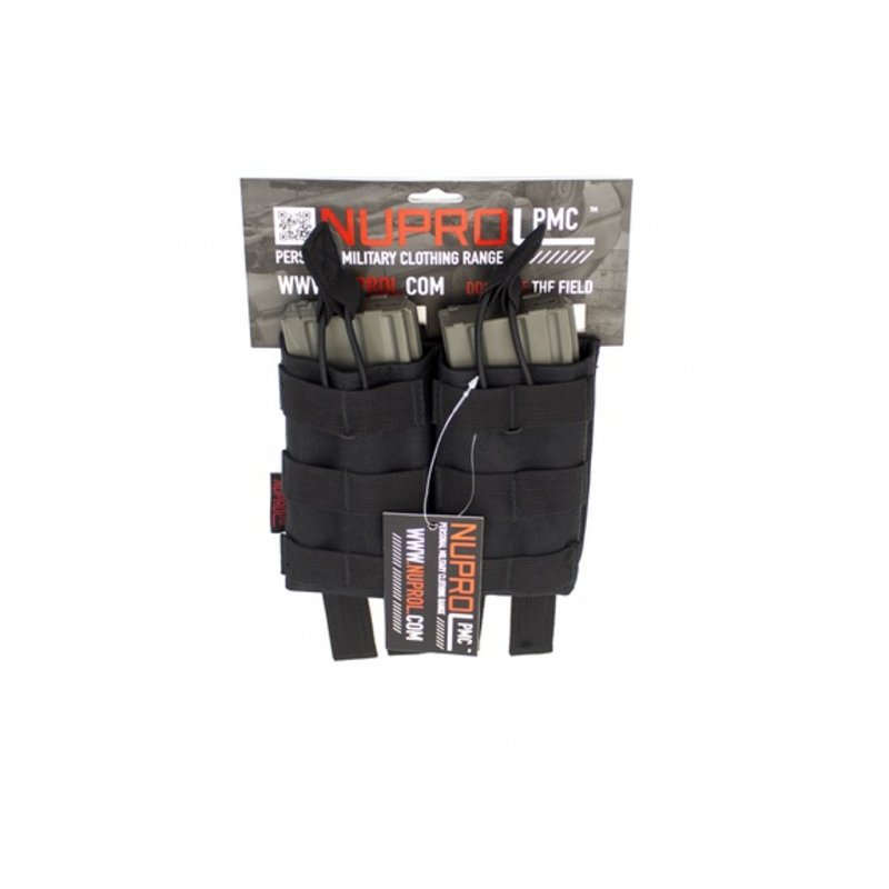 NUPROL PMC M4 Double Open Mag Pouch (Black)