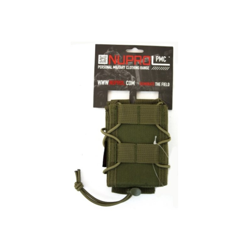 NUPROL PMC Rifle Open Top Pouch (Green)