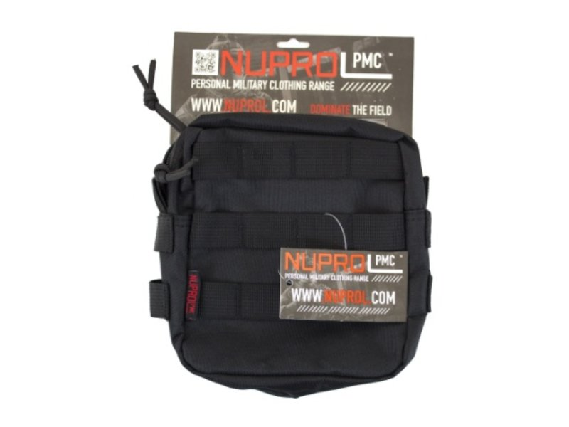 NUPROL PMC Medium Utility Pouch (Black)